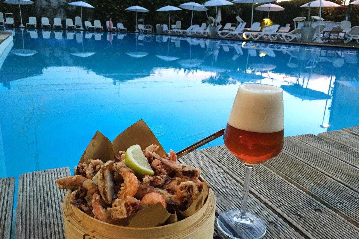 23 24 giugno 2016 fish beer acquapazza ristorante a for Cena in piscina